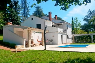 Villa with pool and large garden, Motovun, Istria 1
